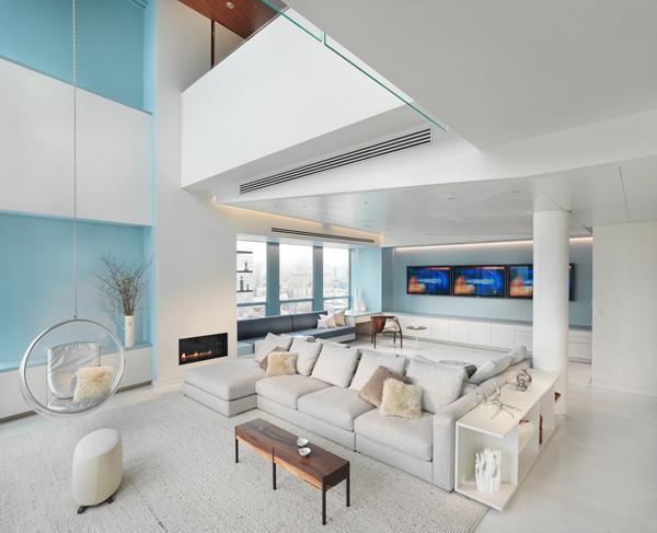 Tall ceiling modern chair