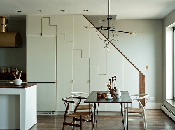 The wishbone chair is another great choice for the dining area