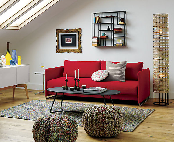 Red sofa decor ideas sofa ideas Red sofa ideas