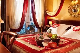 Valentine's Day romantic bedroom decorating ideas