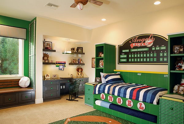 Baseball Wall Mural Murals Decals Sports Themed Interiors