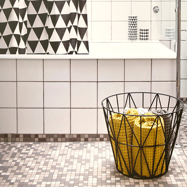 Wire basket for storage and style