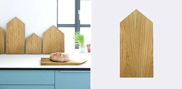 Wooden cutting boards from Ferm Living Wood Meets Geometric Design In One Of Todays Top Trends