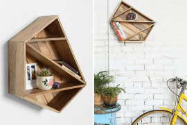 Wood Meets Geometric Design In One Of Today's Top Trends