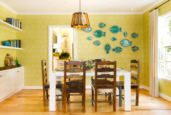 Decorate Your Wall With Dinner Plate Arrangements