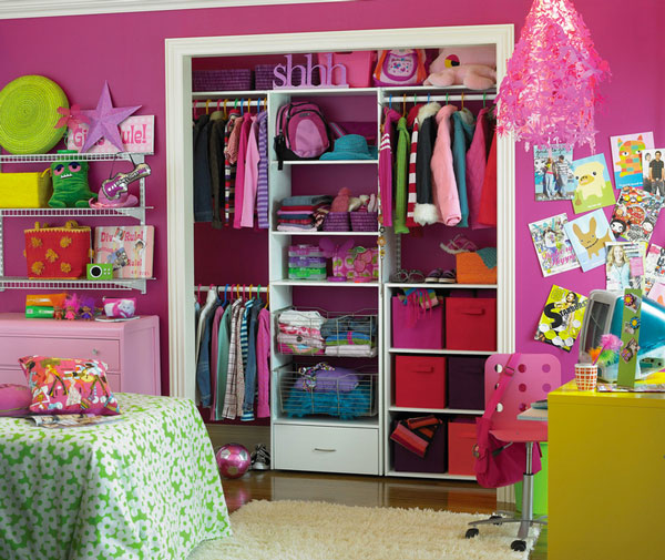 Cabinet Design For Clothes For Kids attractive closets your kids will love!