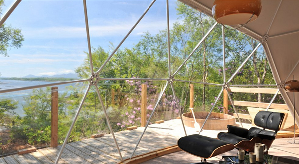 eco pad 1 Amazing And Modern Geodesic Dome Homes