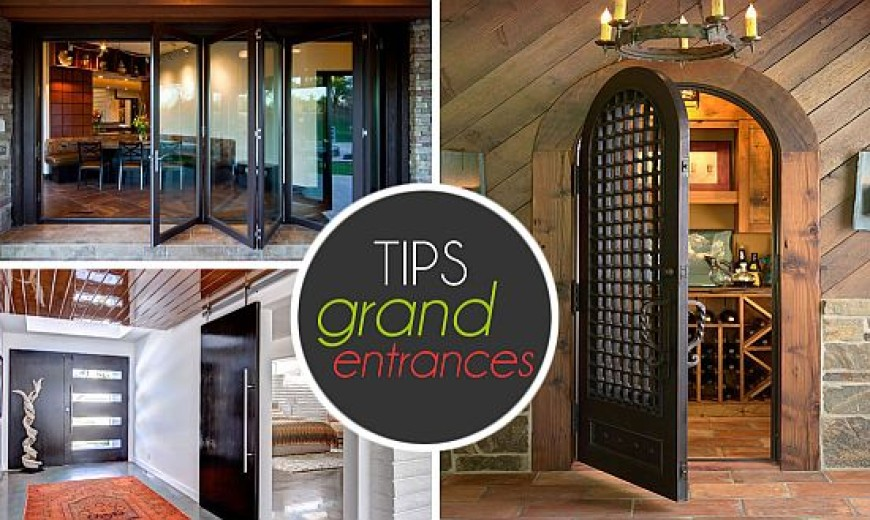 Ideas To Help You Make A Grand Entrance!