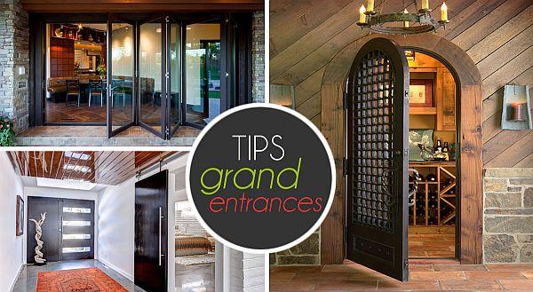 Entrance Decorating, Door Designs, Pictures
