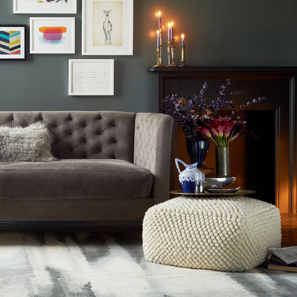 If you already have enough print in your palace or your style is modern  rustic, try the Bubble Knit Pouf for your interior. Notice this pouf also  makes a ... - Add Comfort To Your Home With Floor Pillows And Poufs