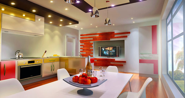 kitchen design 2 by ultrarender d4z34qo Andy Warhols Pop Art Makes A Special Appearance Indoors