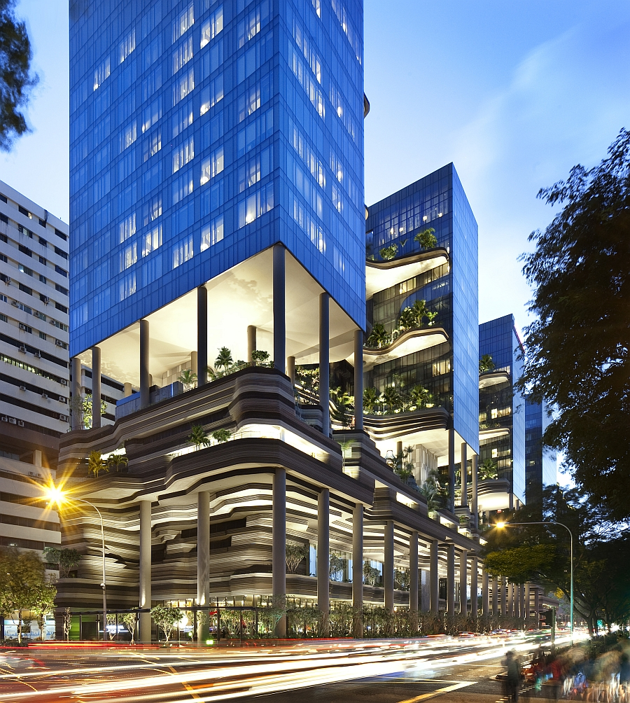 parkroyal on pickering by woha Breathtaking Green Hotel In Singapore Showcases Sustainable Architecture