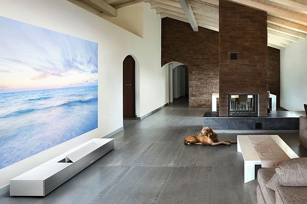 sony's 4k ultra short throw projector for the contemporary home