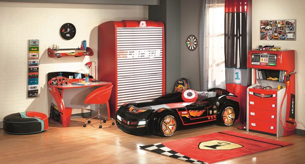 The Collection German Furniture on Race Car Trundle Beds