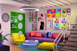 Andy Warhol's Pop Art Makes A Special Appearance Indoors