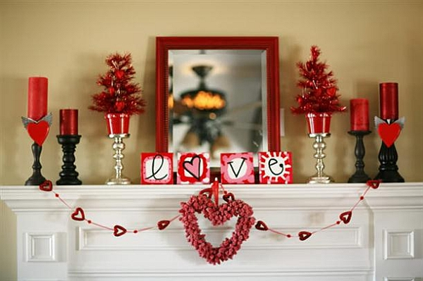 Romantic bedrooms how to decorate for valentine 39 s day for Valentine s day room decor