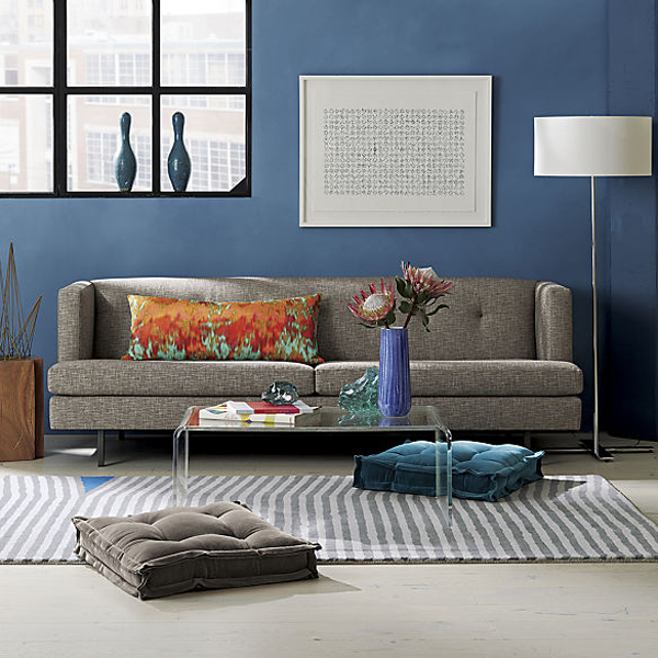 Add comfort to your home with floor pillows and poufs - Cushion flooring for living rooms ...