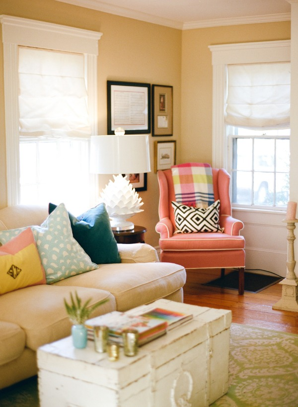 Sarah's Pink and Girly Apartment
