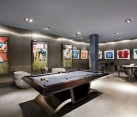 A classy to create a basement mancave