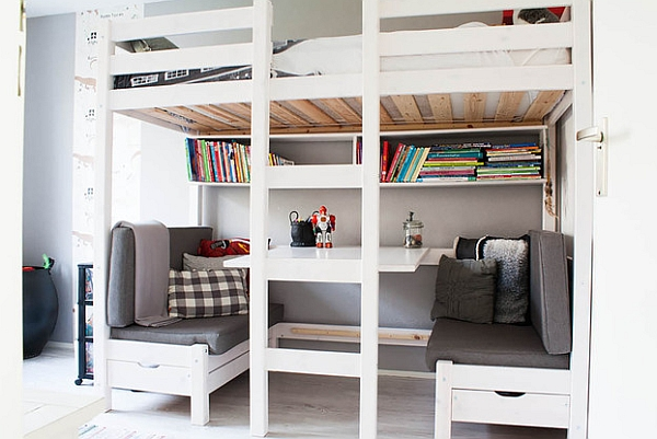 Loft Beds With Desks Underneath 30 Design Ideas