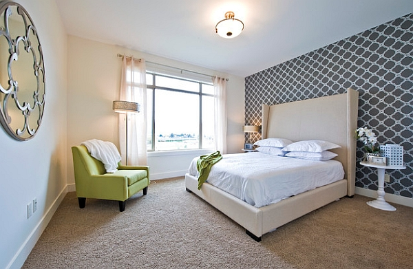 View In Gallery Add Interesting Geometric Patterns To The Bedroom With Accent  Walls