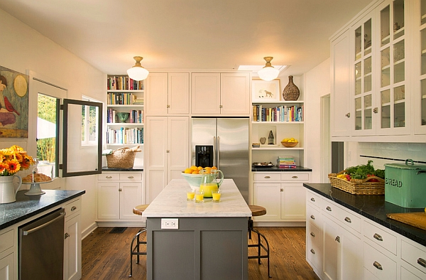 Kitchen cabinets the 9 most popular colors to pick from for Beautiful kitchen colors