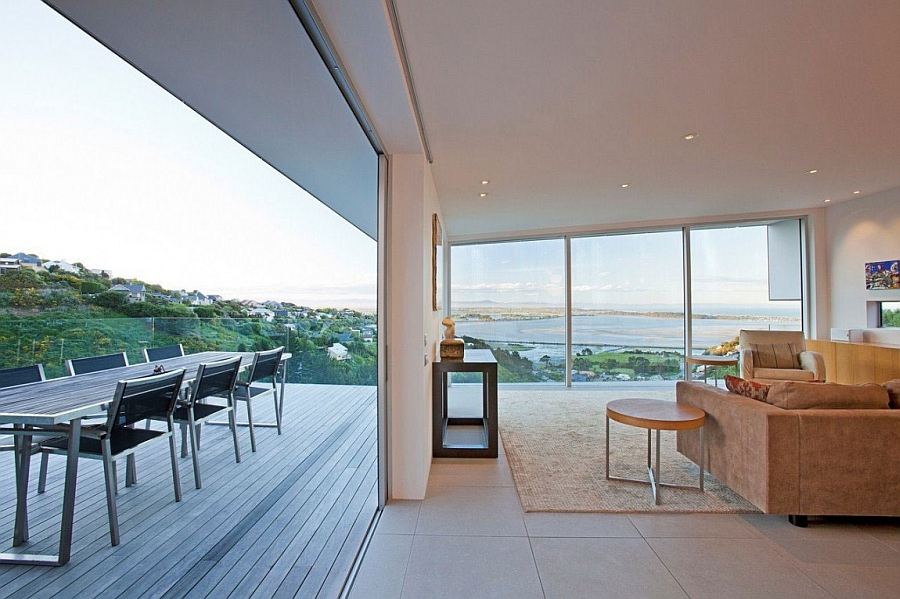 Stunning Ocean Views And An Open Interior Define The