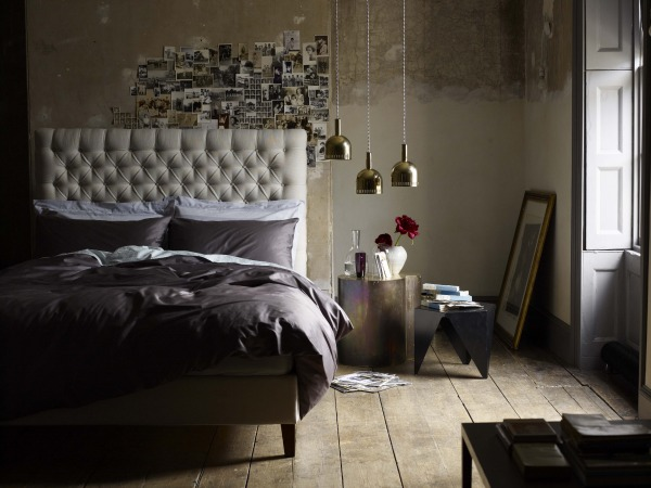 Brass bedroom chandelier