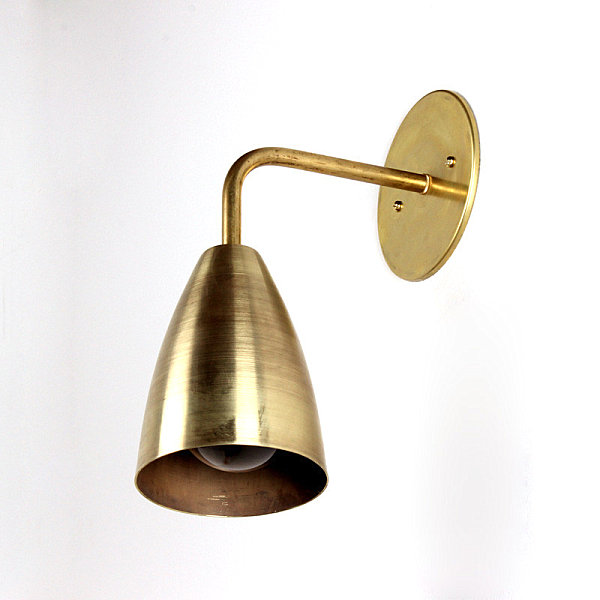 Wall Lights In Brass : The Modern Lighting Of Onefortythree
