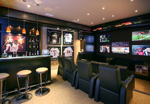 Bring home the sports bar in style