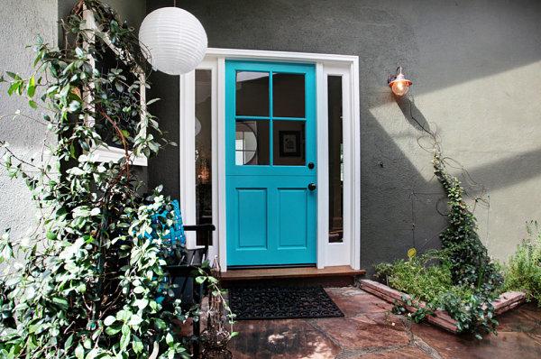 Charming cottage entrance
