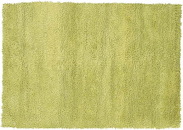 Chartreuse rug