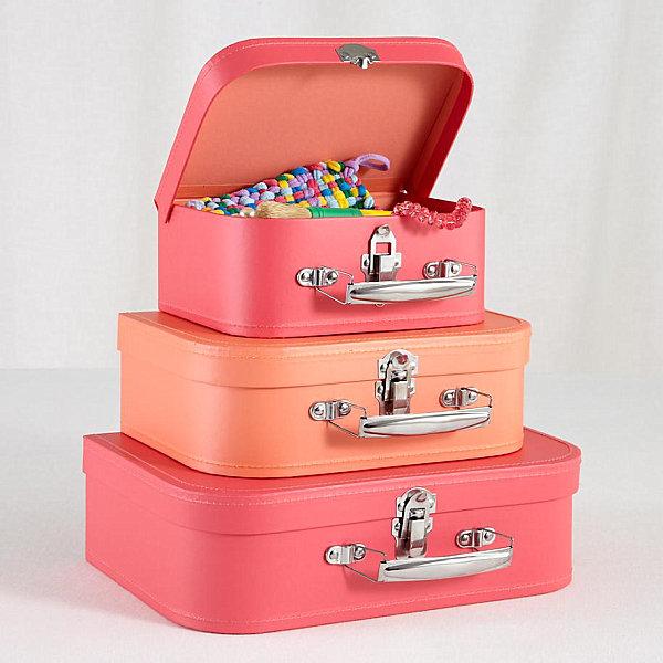 Colorful suitcase set