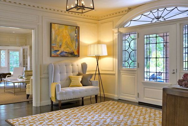 Entryway seating designs interior design ideas for Foyer seating area ideas
