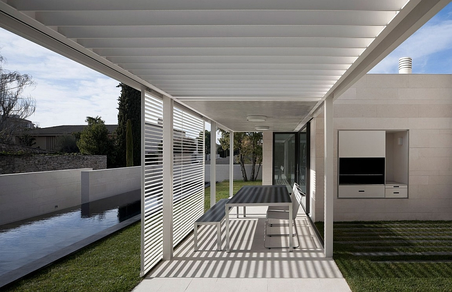 Contemporary style of the Igualada N1 in Barcelona