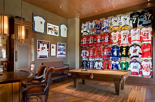 Create a Jersey wall at home!