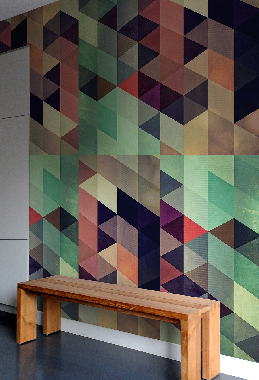 Wall Design Tiles textured tiles have a softer impact enhancing the art deco design without being too overpowering View In Gallery Creative And Colorful Wall Tile Designs
