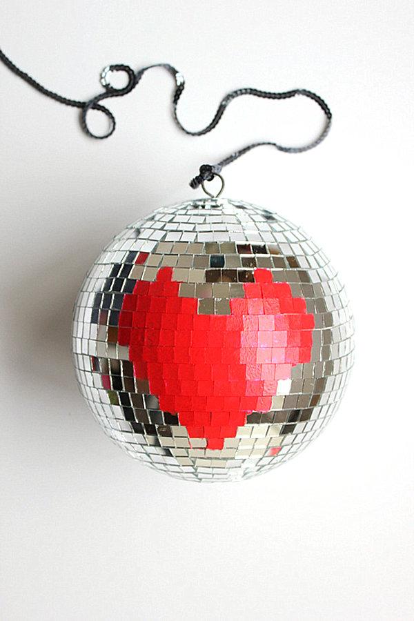 Disco ball valentine