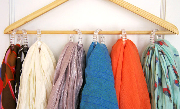 Genial Scarf Storage Solutions For An Organized Closet