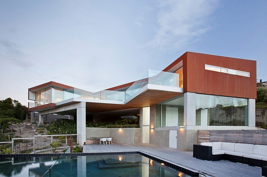Expansive home in Christchurch with unique design