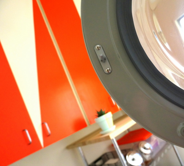 Function meets style in this laundry room makeover A DIY Laundry Room Makeover