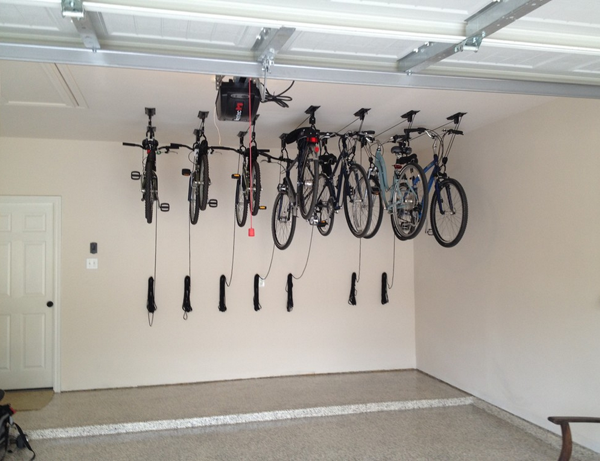 smsender bicycle garage ceiling mount co rack storage tulum bike