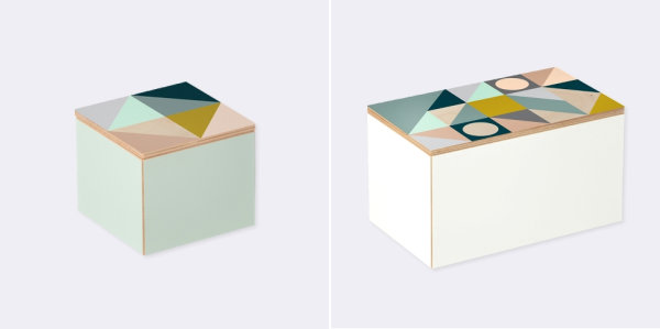 Geometric box Valentines Day Gift Ideas For The Design Lover In Your Life