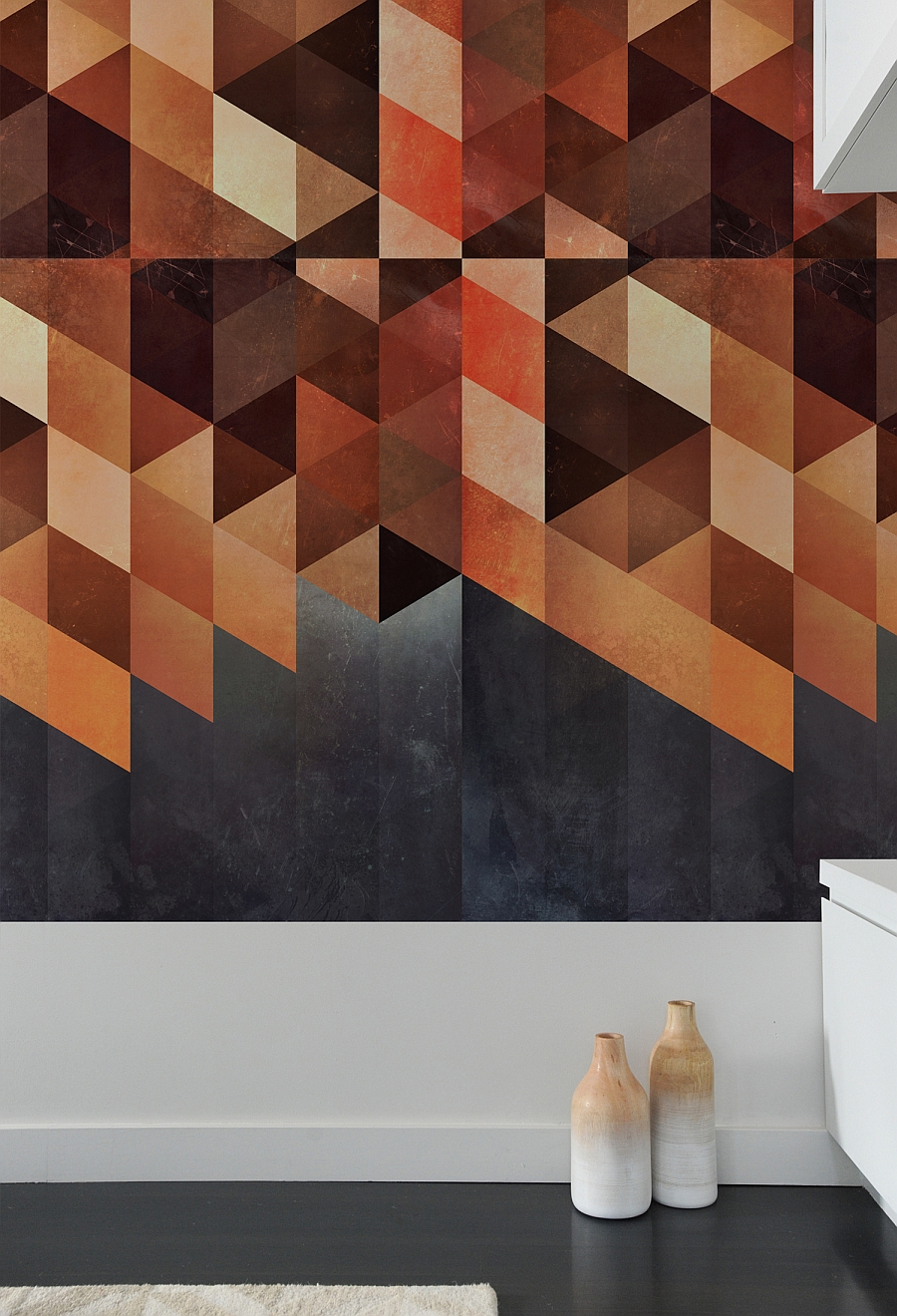 View in gallery Geometric wall tiles from Spires