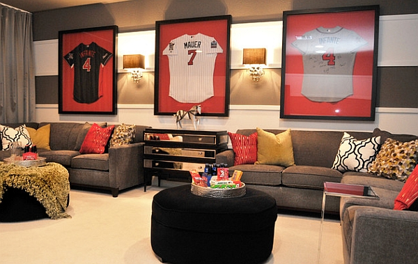 Give the room a design gallery appeal