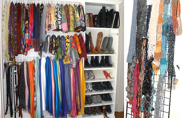 Scarf Storage Solutions For An Organized Closet