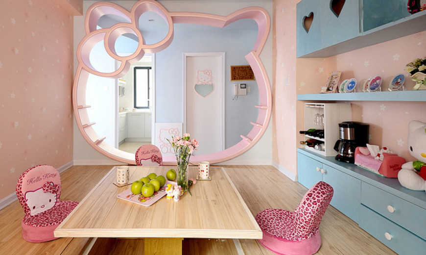 Amazing Hello Kitty Girls Room Designs