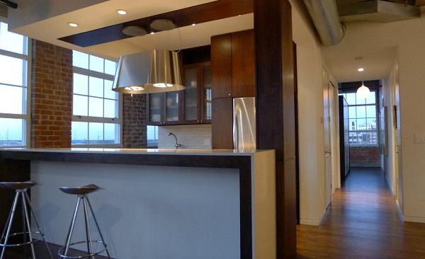 View In Gallery Industrial Loft Kitchen