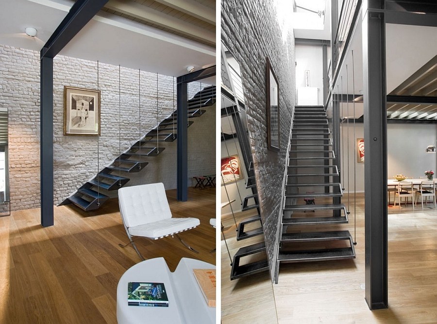 Private Residence In Brussels Dazzles With An Industrial
