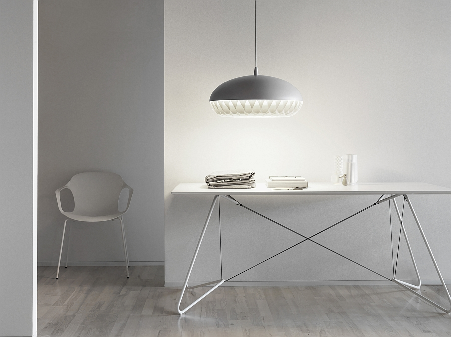 Minimalist pendant light for modern study